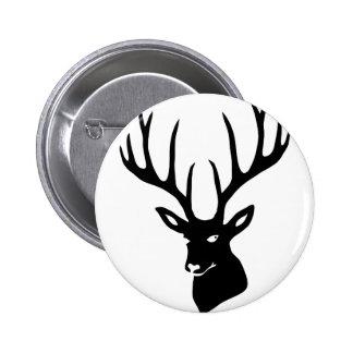 Deer antlers deer antlers game moose deer steam tu pinback button