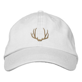 Deer Antlers Embroidered Baseball Cap