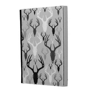 Deer Antlers Skull pattern iPad Folio Case