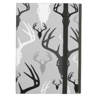 Deer Antlers Skull pattern iPad Air Covers