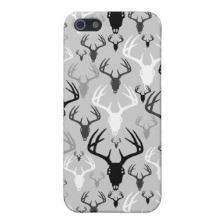 Deer Antlers Skull pattern Case For iPhone 5/5S
