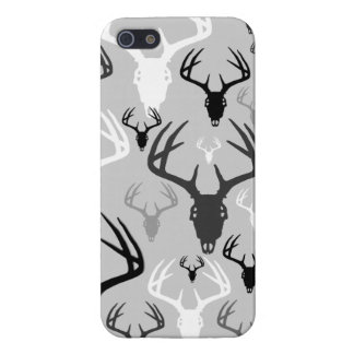 Deer Antlers Skull pattern iPhone SE/5/5s Cover