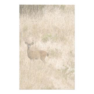 Deer Art Stationery