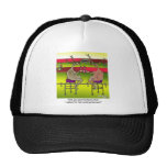 Deer Asking For a Hunting License Mesh Hats