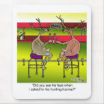 Deer Asking For a Hunting License Mouse Pad