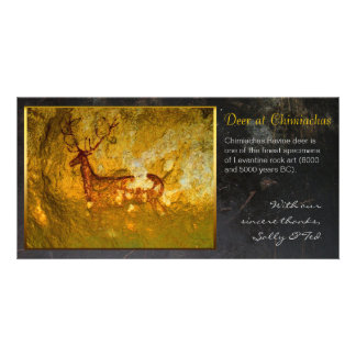 Deer at Chimiachas Personalized Photo Card