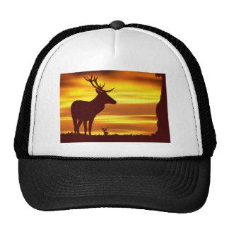 Deer at Dusk Trucker Hats
