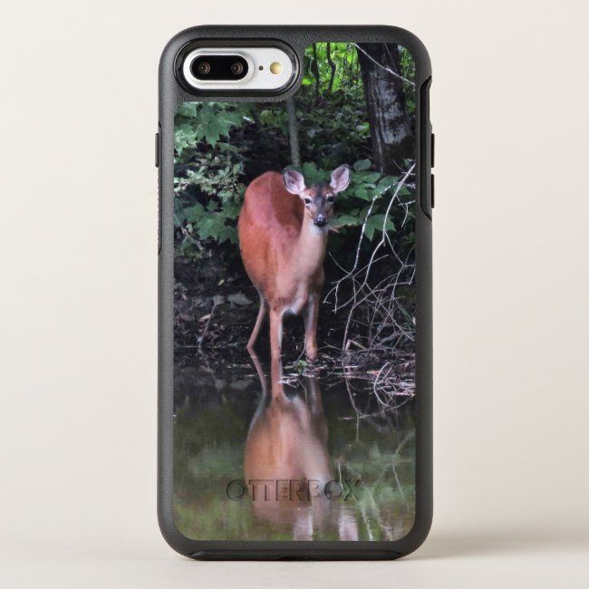 Deer at Forest Pond OtterBox iPhone 8/7 Plus Case