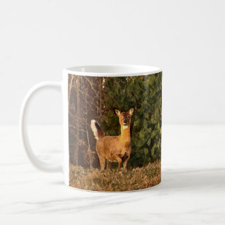 Deer at Sunrise Coffee Mug