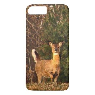 Deer at Sunrise iPhone 7 Plus Case