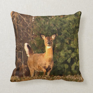 Deer at Sunrise Pillows