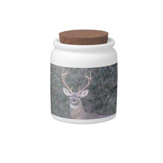 Deer at the Ranch Candy Jar