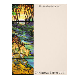 Deer at Waterbrooks Christmas Letter 2011 Letterhead Template