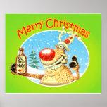 Deer Beer Posters