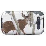 Deer Buck in Snow Galaxy SIII Covers