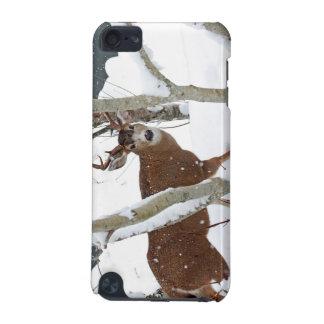 Deer Buck in Snow in Winter iPod Touch 5G Case