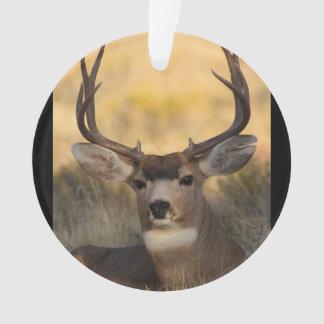 deer buck ornament