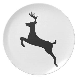 Deer buck plate