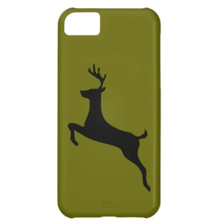 Deer buck stag antlers silhouette iPhone 5  Case For iPhone 5C