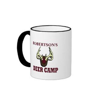 Deer Camp Ringer Coffee Mug