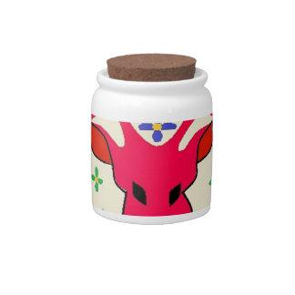 deer candy jars