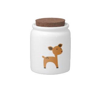 Deer Candy Jar