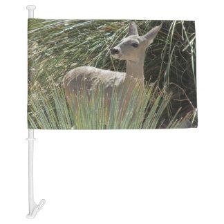 Deer Car Flag