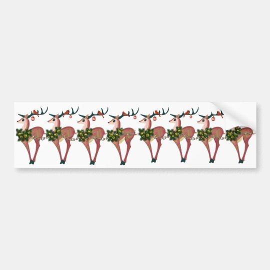 Deer Cheer Sticker