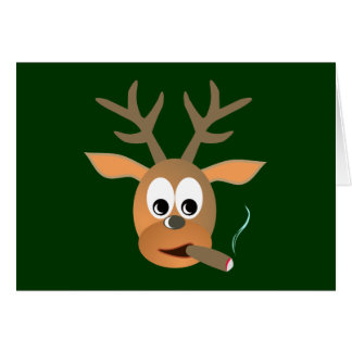 Deer cigar more deer cigar card