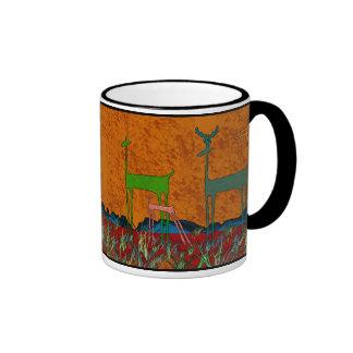 Deer Clan Coffee Mugs