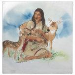 Deer Clan Mother Cloth Napkin