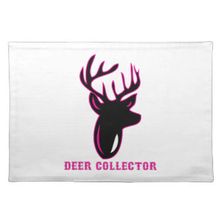 Deer Collector Cloth Placemat