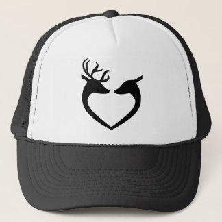 Deer Couple Trucker Hat