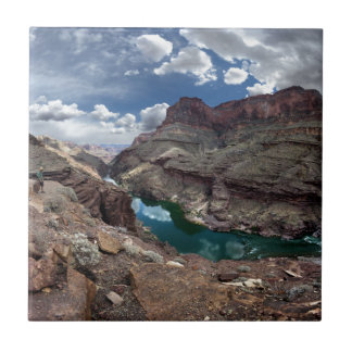 Deer Creek at Colorado River - Grand Canyon Ceramic Tile