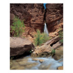 Deer Creek Falls , Grand Canyon National Park , Poster