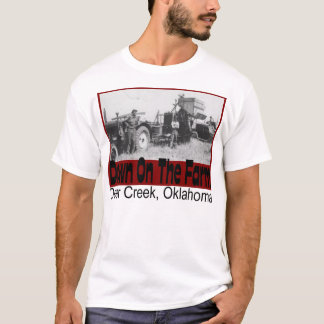 Deer Creek Oklahoma Farm Photo T-Shirt