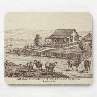 Deer Creek sheep ranches Mouse Pad
