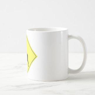 Deer Crossing Sign Coffee Mug