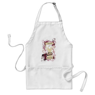 deer crown our is the fury adult apron