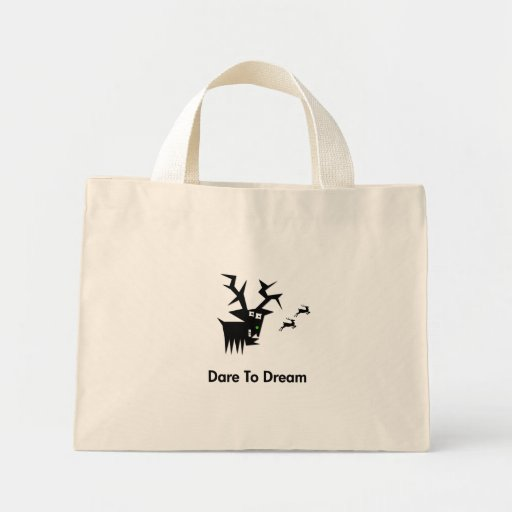 Deer Dare To Dream Mini Tote Bag