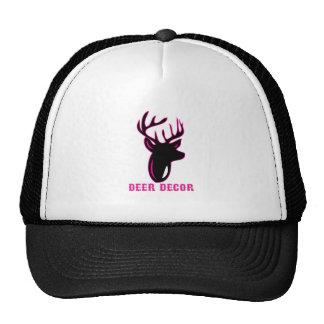Deer Decor Mesh Hats