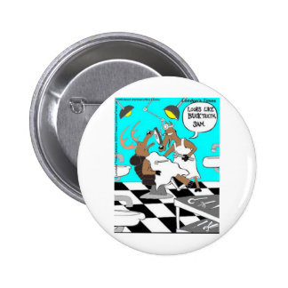 Deer Dentistry Buck Teeth Funny Cards Tees Gifts 2 Inch Round Button