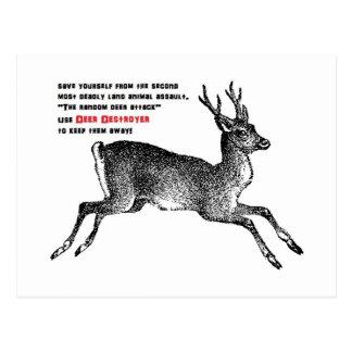 Deer Destroyer Postcard