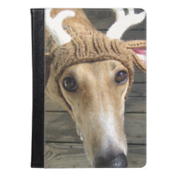 iPad Air Folio Case by Ivoke with Whippet Phone Cases design