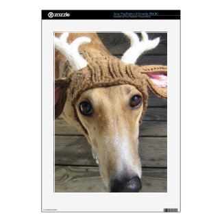 Deer dog - cute dog - whippet skins for PS3 console