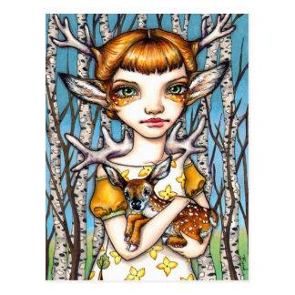 Deer Dorothy Postcard