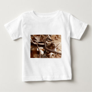 Deer Elk Moose Antlers Hunting Gift Ideas Hunters Baby T-Shirt