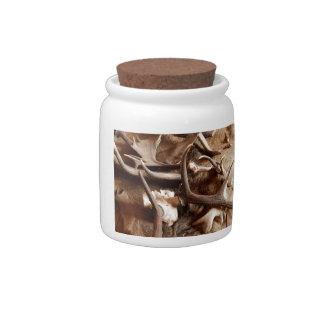 Deer Elk Moose Antlers Hunting Gift Ideas Hunters Candy Jars