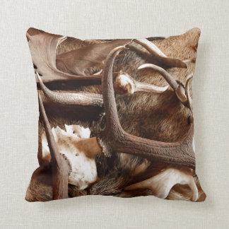 Deer Elk Moose Antlers Hunting Gift Ideas Hunters Pillow