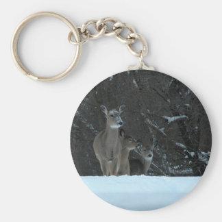 Deer Family Key Chains